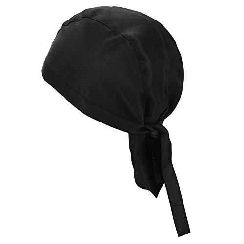 ITODA Quick Dry Skull Cap Sport Headwear Running Beanie Retro Pirata Cap Traspirante Chef's Bandana Skull Hat Sun UV Turbante sotto il casco per fitness corsa, ciclismo, motociclismo, cucina barbecue
