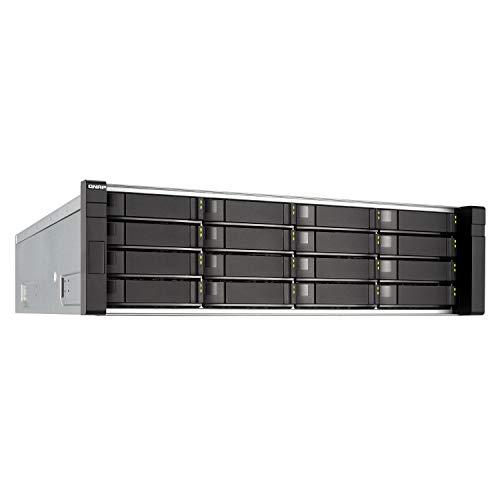 QNAP 16-Bay Zfs NAS SAS 12G/6G Xeon E5-2420 32GB RAM 12-LAN 4 SFP+/2 RJ45 10G-Ready iSCSI inkl. LAN-10G2T-X550 RP mit Rail-KIT