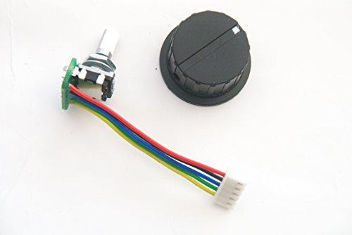 Kaddie Boy Limited Interruptor de repuesto giratorio/codificador para Powerbug Digital Golf Trolleys C/W New Actuator Knoba