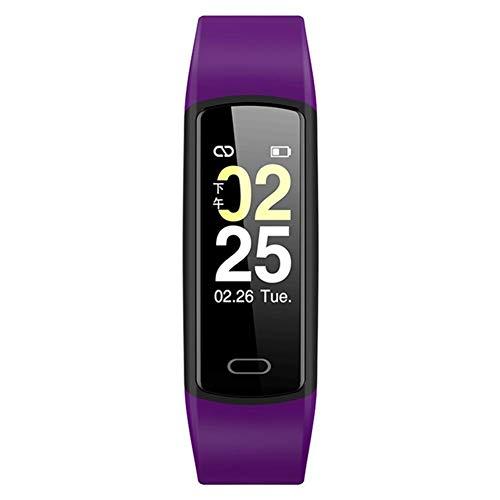 su-xuri Reloj Deportivo para iOS Android, 0.96 Pulgadas de Pantalla de Alta Definición Reloj Inteligente Impermeable Multi-Deporte Bluetooth Pulsera Monitoreo de Salud Pulsera para Hombres Y Mujeres