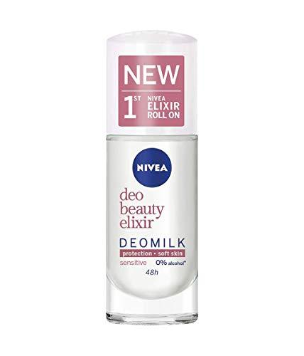 NIVEA Beauty Elixir Sensitive Deomilk Desodorante Roll-on 40 ml