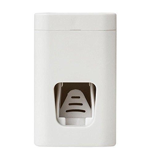 Foru-1 Automatischer Zahnpasta-Spender zur Wandmontage, Zahnbürstenhalter, Simple