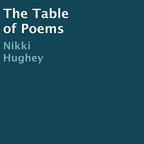 The Table of Poems audiobook cover art