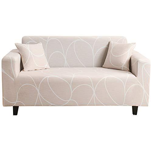 TUANTALL Sessel überzug Couch bezüge Sofa hussen Abdeckung Sofa Klippan Sofa Abdeckung Magie Sofa abdeckungen Stuhl abdeckungen für Sessel 145-185,White