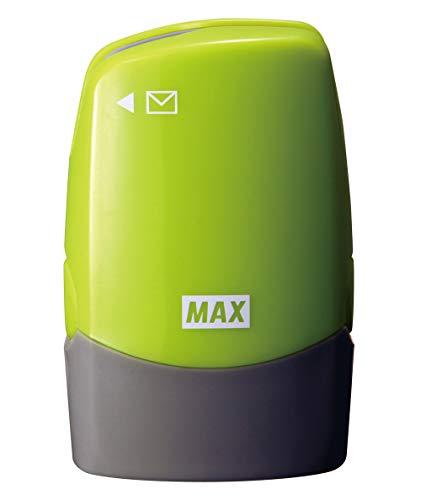マックス 個人情報保護スタンプ レターオープナー付き コロレッタ グリーン SA-151RL/LG2