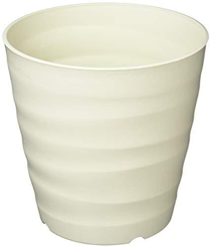 大和プラスチック (ACTOR) 鉢・プランター フレグラーポット 18型 小さめサイズ アイボリー 奥行18×高さ18×幅18cm