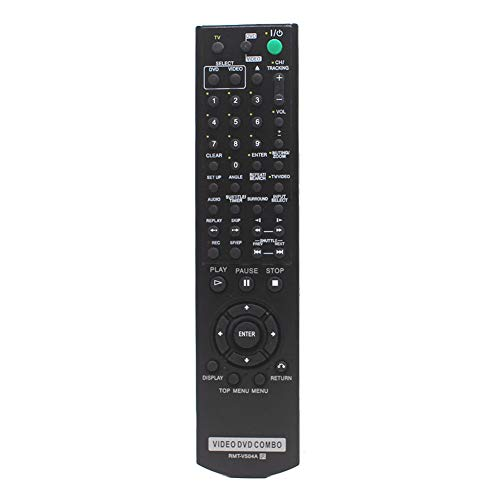 Replacement Remote Control RMT-V504A Fit for Sony DVD/VCR Combo Player Compatible with RMT-V501, RMT-V501A, RMT-V501C, RMT-V501D, RMT-V501E and RMT-V501F