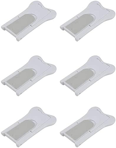 Kindersicherung, Schiebetürschloss für Schiebetüren, Fenster, Schränke, 6 Stück