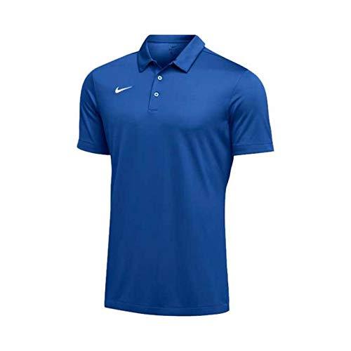 Nike Team Short Sleeve Polo Male Royal Medium