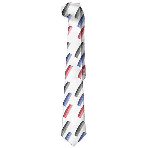 Preisvergleich Produktbild Men's Classic Casual Comb Barber Skinny Silk Tie Necktie Fashion Gift Weddings Gentleman Groom Business