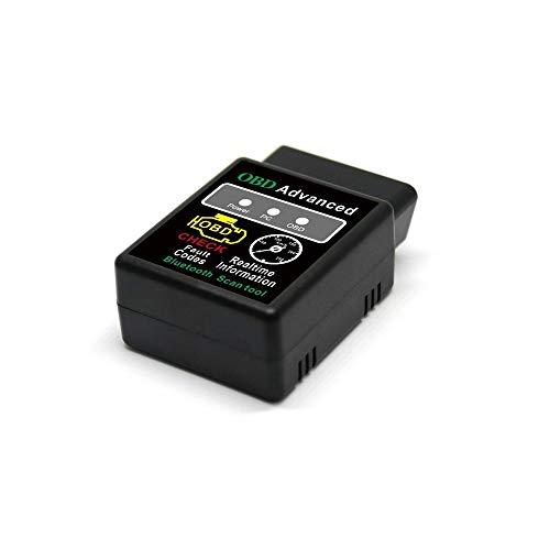Golvery OBD II auto code scanner, Bluetooth auto strumento diagnostico Check Engine Light, read & Clear difettoso Trouble codici per dispositivi Android e Windows