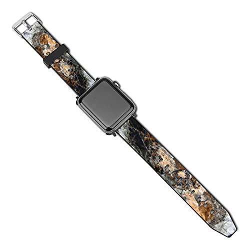 La última correa de reloj de estilo compatible con Apple Watch Band 38 mm 40 mm Correa de repuesto para iWatch Series 5/4/3/2/1, Stock Copper