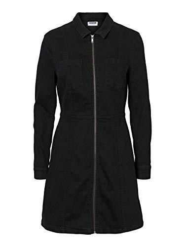 Noisy may Female Kleid Denim LBlack