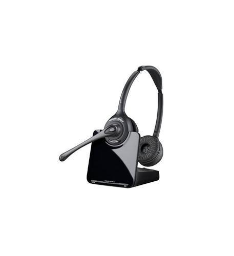 Find Discount Plantronics CS520 Binaural Over-the-Head Wireless Headset