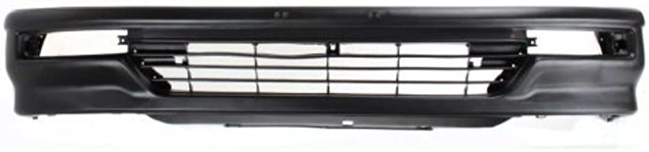 Front Bumper Cover Compatible with 1990-1991 Honda Civic Textured Hatchback USA Built