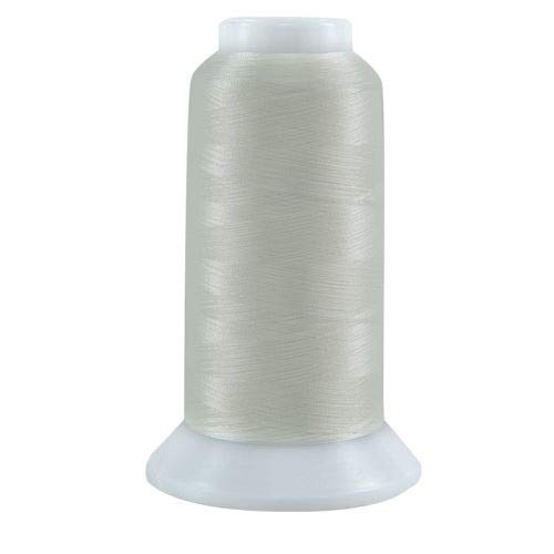 Superior Threads - The Bottom Line Polyester Sewing Thread for Quilting, Applique, and Bobbin Thread, 624 Natural White, 3,000 Yds.