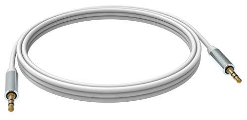 Vision TC 15M3.5MMP Cable de Audio 15 m 3,5mm Blanco - Cables de Audio (3,5mm, Macho, 3,5mm, Macho, 15 m, Blanco)