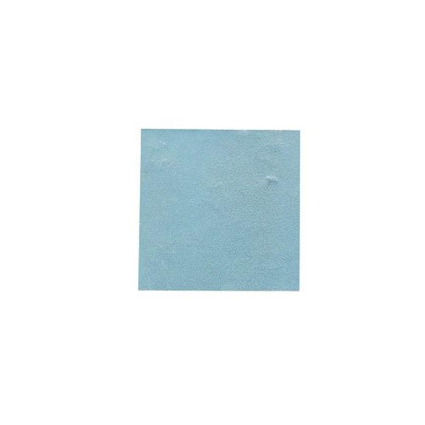 陸軍物思いにふけるうめき声ピカエース ネイル用パウダー パステル銀箔 #647 パステルブルー 3.5㎜角×5枚