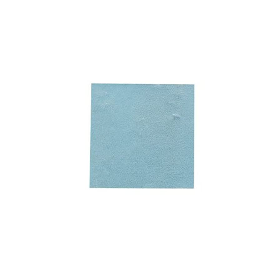 ファイター外観スペイン語ピカエース ネイル用パウダー パステル銀箔 #647 パステルブルー 3.5㎜角×5枚