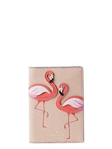Kate Spade Flamingo By The Pool Passport Holder, Pink Multi