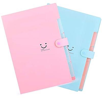 2 Pack Expanding File Folders Accordion Documen...