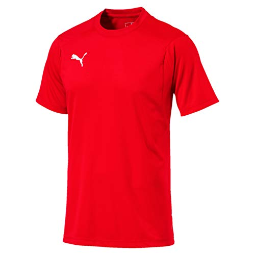 PUMA Liga TR JSY Camiseta de Manga Corta, Hombre, Rojo Red White,...