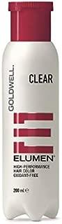Goldwell Elumen High-performance Hair Color, Clear, 6.8 Ounce