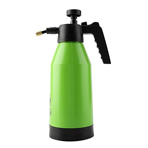 FTVOGUE Pressure Water Sprayer Hand Pump Ergonomic Grip Plant Water Chemical Spray Bottle Planting Gardening Watering Tool, 2L
