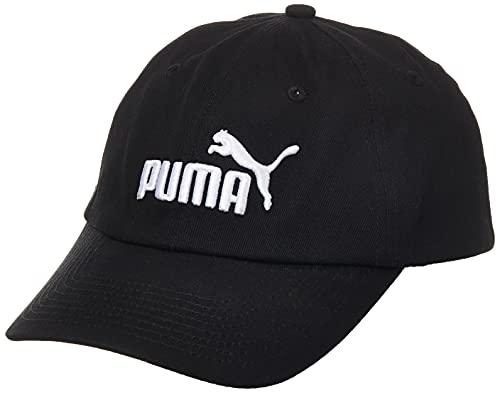 PUMA Kinder ESS Cap Jr Kappe, Black-No.1, One Size