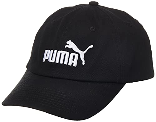 Puma 21688, Cappello Unisex Bambini, Black/No.1, Taglia Unica