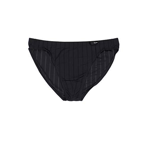 HOM - Herren - Comfort Micro Briefs 'Chic' - Halbtransparenter Slip - Black - Grösse XL