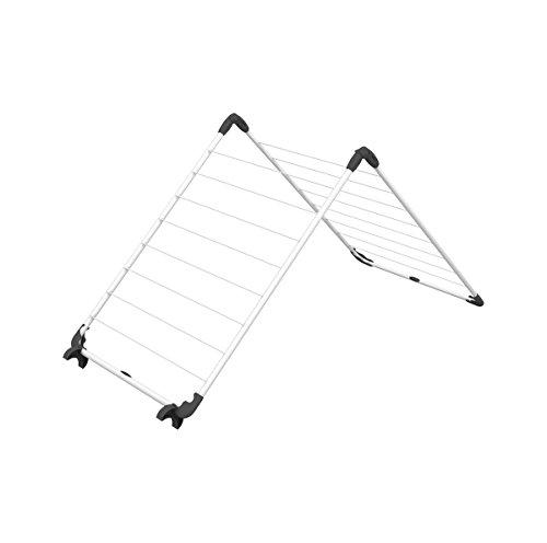 Vileda Acrobath Wäschetrockner, Stahl und Kunststoff, weiß, 71x5.5x67 cm