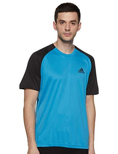 adidas Club C/B Tee T-Shirt Homme, Shocya/Black, m