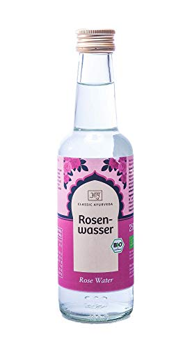 Classic Ayurveda BIO Rosenwasser 3er Pack (3 x 250 ml)