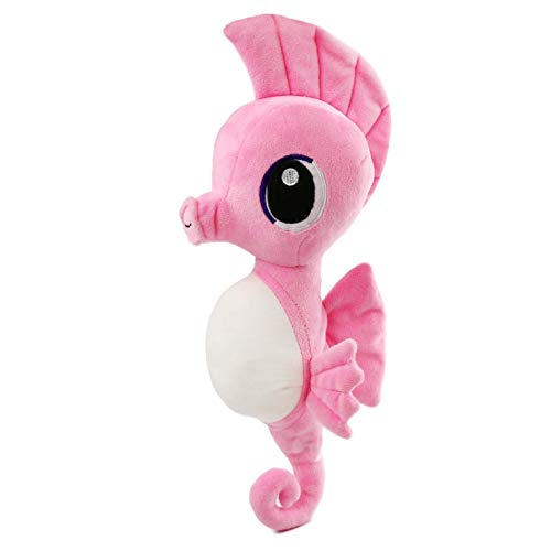 Athoinsu Pink Stuffed Seahorse Soft Plush Toys Sea Animals Bedtime Companion Birthday Valentines Gifts for Toddler Kids,15 inches
