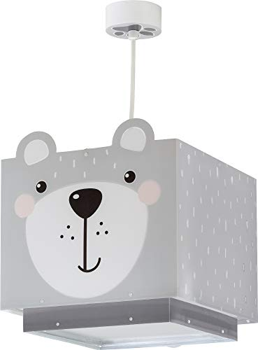 Dalber kinderlampe Pendelleuchte Hängelampe Little Teddy Bär Tiere Grau