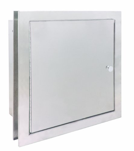 Bradley 9813-000000 18 Gauge Satin Stainless Steel Specimen Pass-Thru Cabinet with Exposed Surfaces, 13-3/8' Width x 12-5/8' Height x 6' Depth