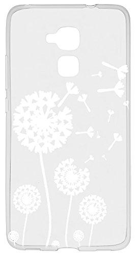 mumbi Hülle kompatibel mit Honor 5C Handy Case Handyhülle mit Motiv Pusteblume, transparent - 5