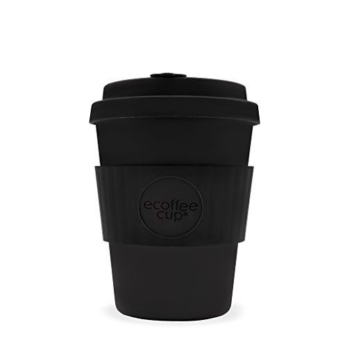 Kerr & Napier Ecoffee Becher, 340 ml, aus Bambusfaser, tropfsicherer Deckel, spülmaschinenfest