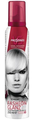 Vidal Sassoon Pro Series Fashion Glanz Schaumfestiger, 6er Pack (6 x 250 ml)
