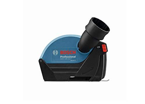 Bosch Professional Absaughaube GDE 125 EA-T (125 mm Trennscheiben-Ø, 25 mm max. Schnitttiefe, werkzeuglose Montage, 300 g)