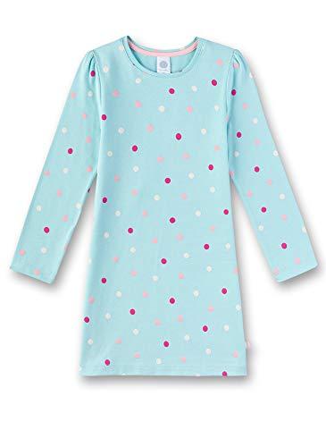 Sanetta Mädchen Nachthemd, Blau (Angel Blue 5568), 92 (Herstellergröße: 092)