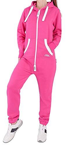 Finchgirl 99V12 FG18R Damen Jumpsuit Overall Rosa M