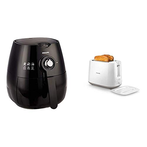 Philips Viva Collection HD9220 Air Fryer with...