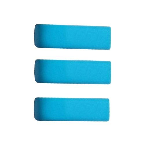 ElementDigital 3pcs Replacement End Caps Covers for Jawbone UP 2 2nd Gen 2.0 Bracelet Band Wristband Wrist Band Sport Band Armband Cap Dust Protectors(not for the UP 1st Gen, not for UP24) (3pcs Skybule)