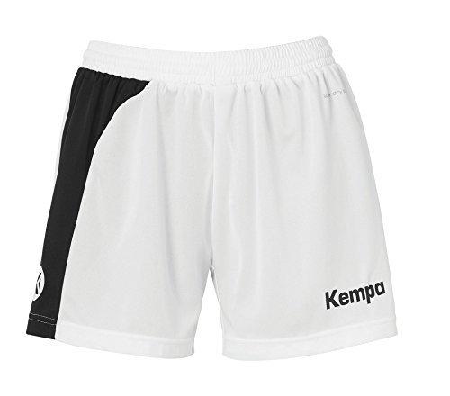 Kempa Handball Peak Shorts Women's Shorts-White (White/Black) White / black Size:XL (42) by Kempa
