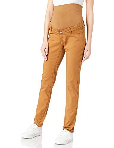 Esprit Maternity Pants Wvn OTB Slim Pantaloni, Acorn Beige-249, 42W x 32L Donna