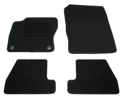 AD Tuning GmbH HG14000 Velours Passform Fußmatten Set, Schwarz
