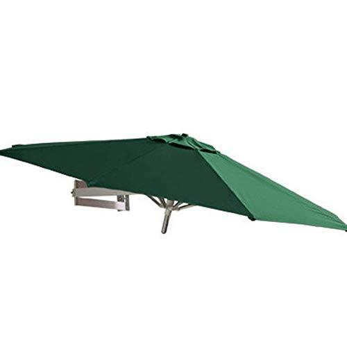 DFBGL Housewares Sombrilla para el Sol Sombrilla para jardín Sombrilla de Pared con protección UV para Patio, 8 pies / 250 cm, voladizo montado en la Pared para jardín, balcón, Patio (ta