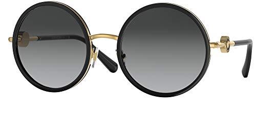 Versace Gafas de Sol ENAMEL MEDUSA VE 2229 Black/Grey Shaded 56/22/140 mujer